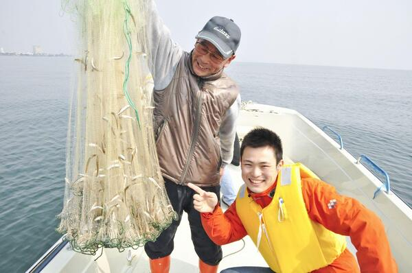 びわ湖漁体験