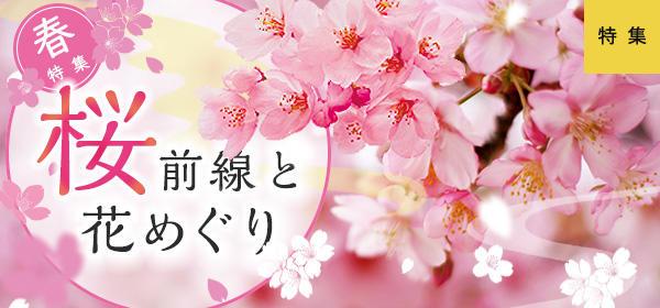 春/桜前線と花めぐり