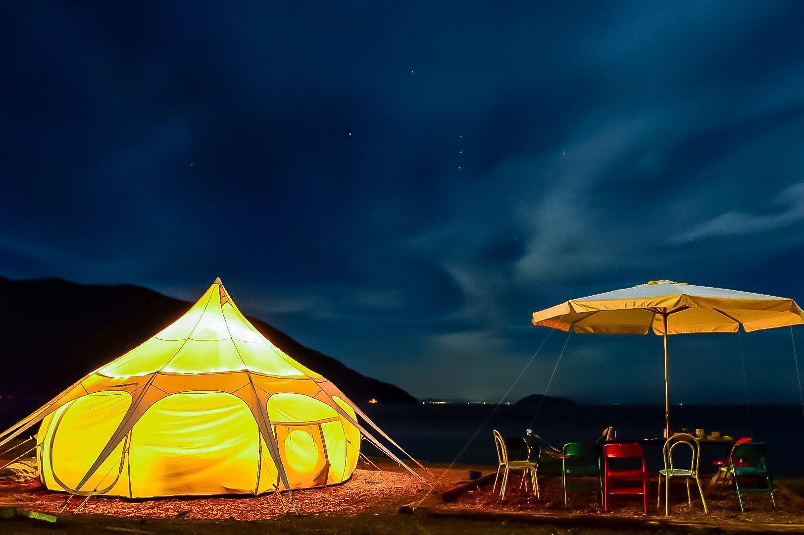 奥琵琶湖マキノグランドパークホテルグランピング