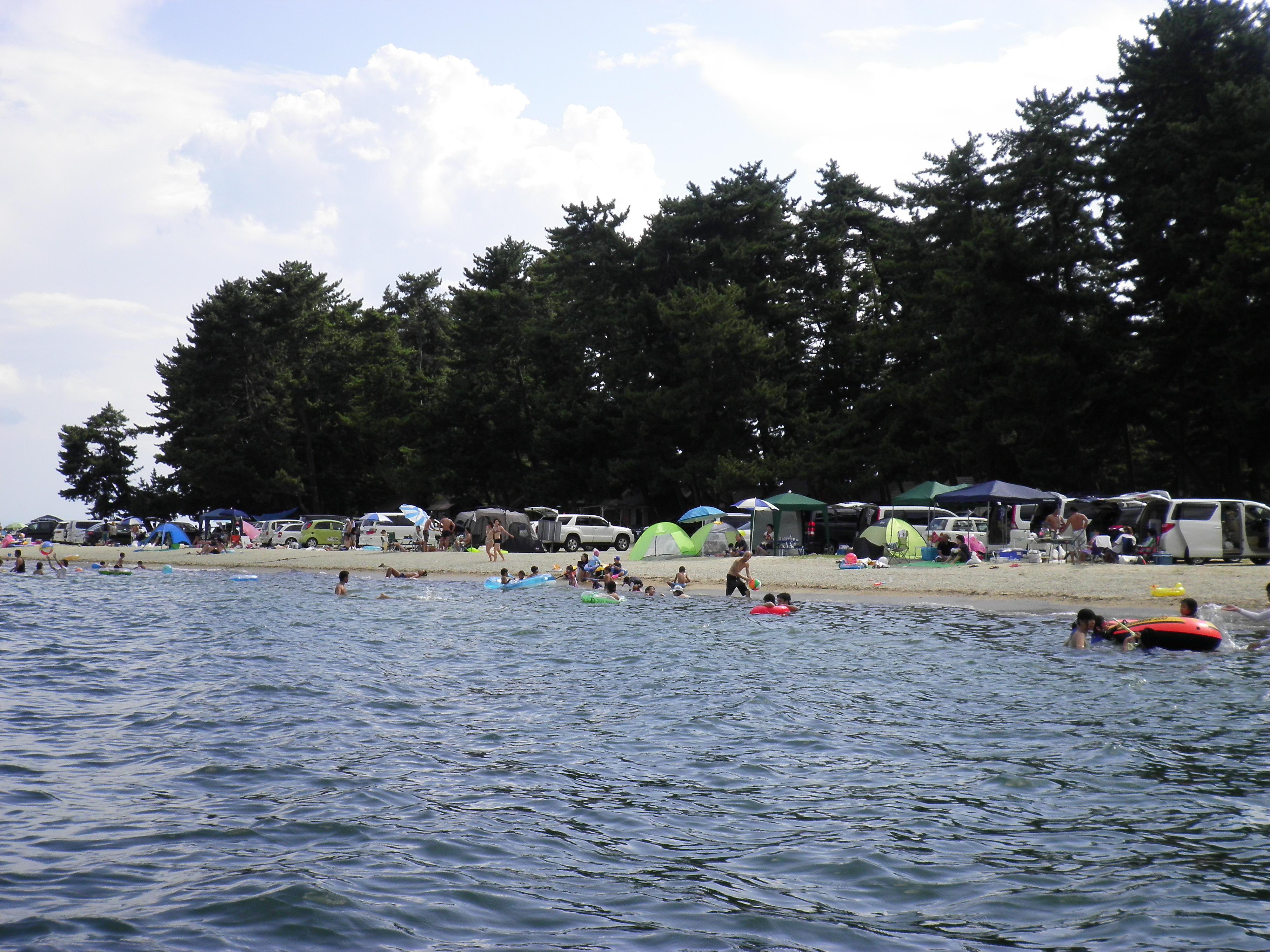 白ひげ浜水泳・キャンプ場