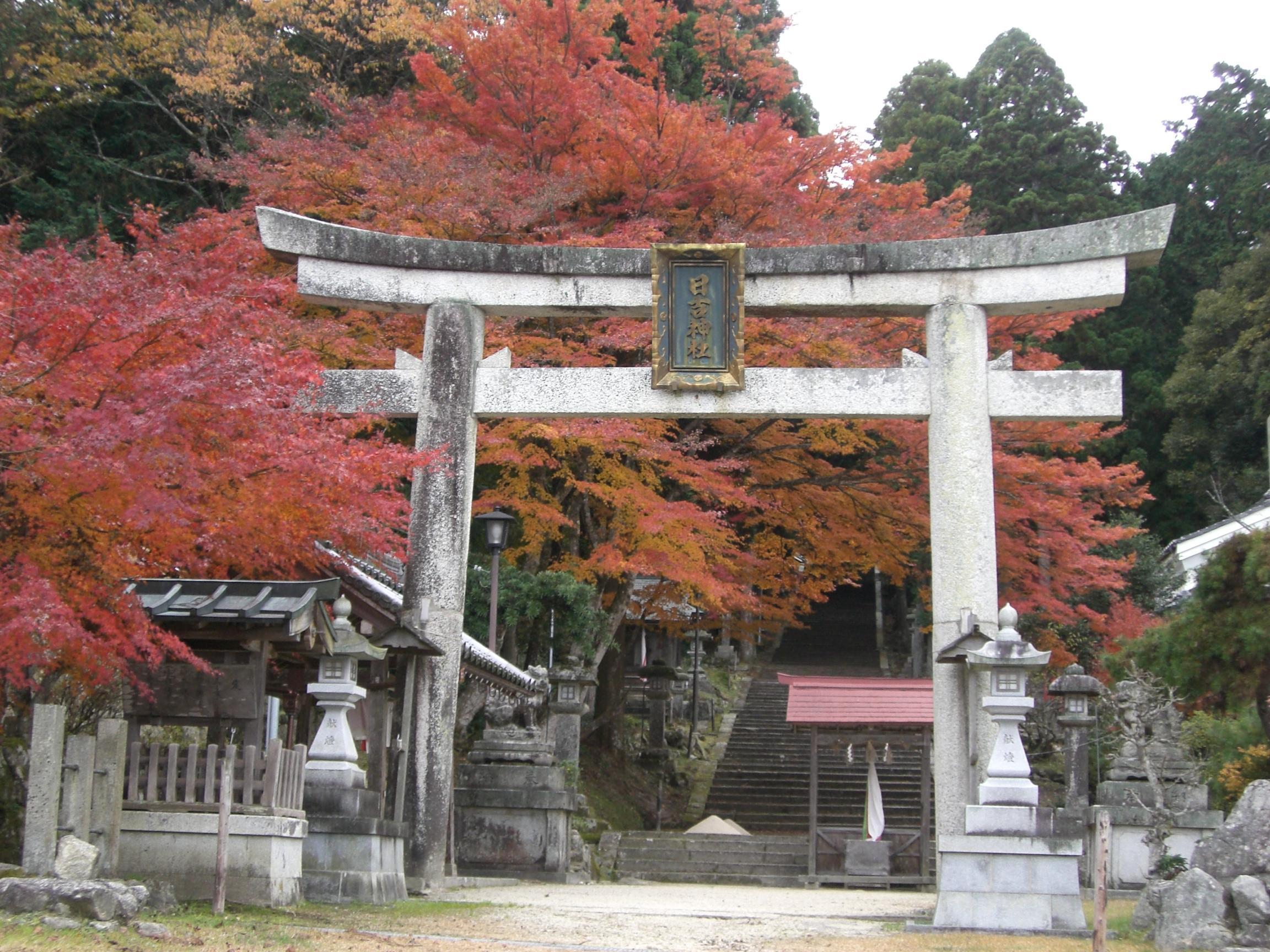 日吉神社(勝野)
