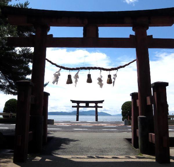JRふれあいハイキング 琵琶湖のパワースポット白鬚神社ウォーク