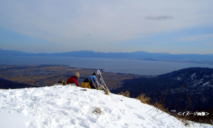 スノーシューで遊ぼう・雪景色を楽しもう~蛇谷ヶ峰
