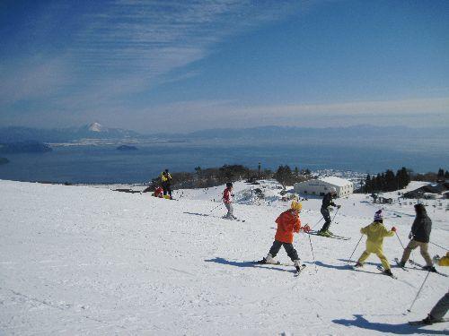箱館山スキー場雪まつり