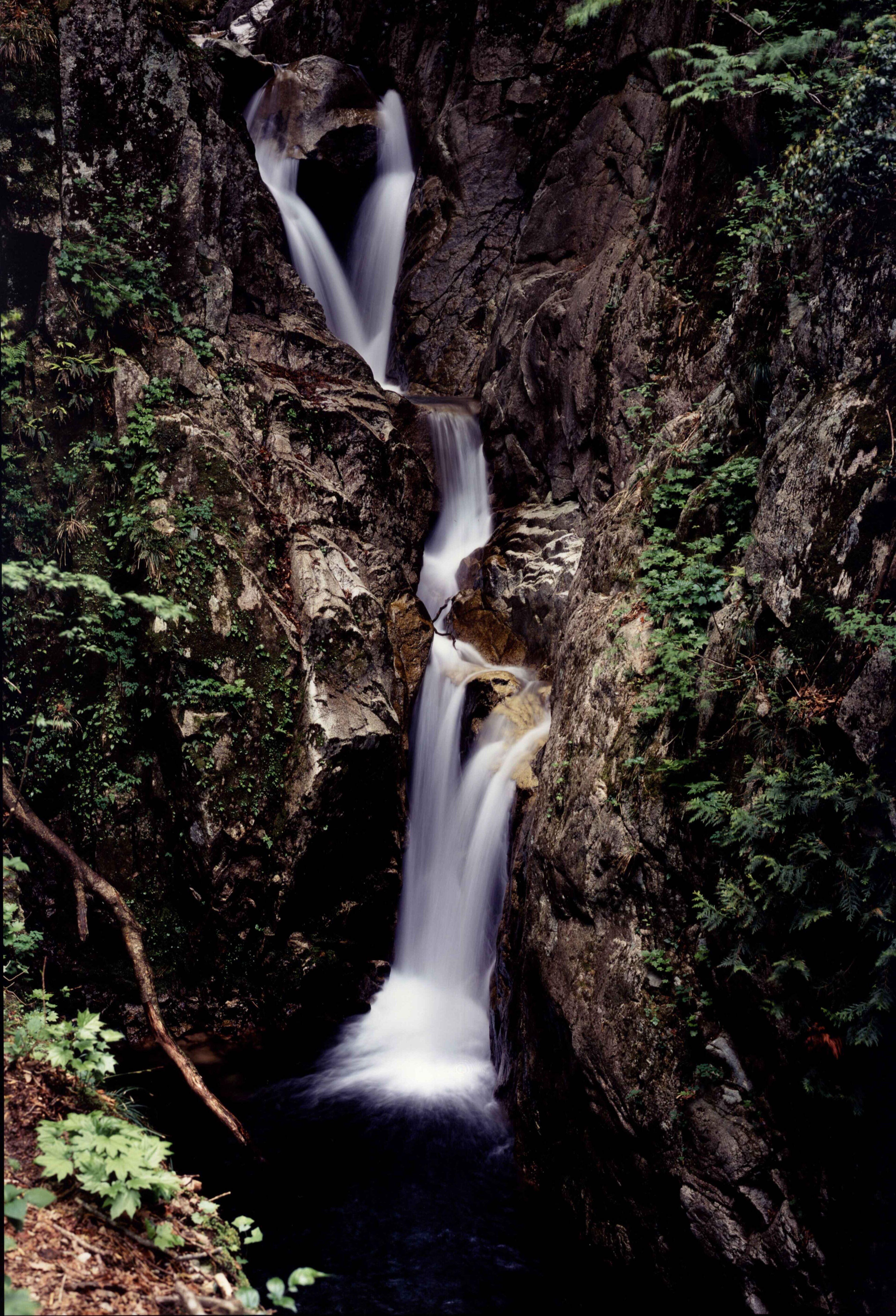 八ツ淵の滝