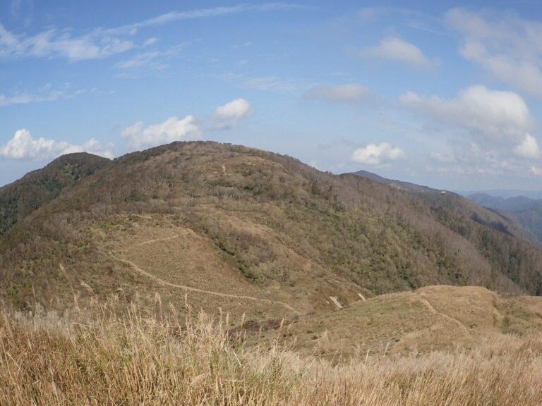 高島トレイル 爽快な稜線と大谷山
