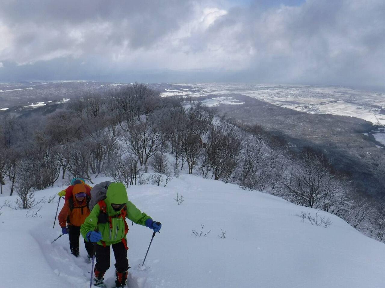 冬の名峰4座をスノーシューで目指す 第4回