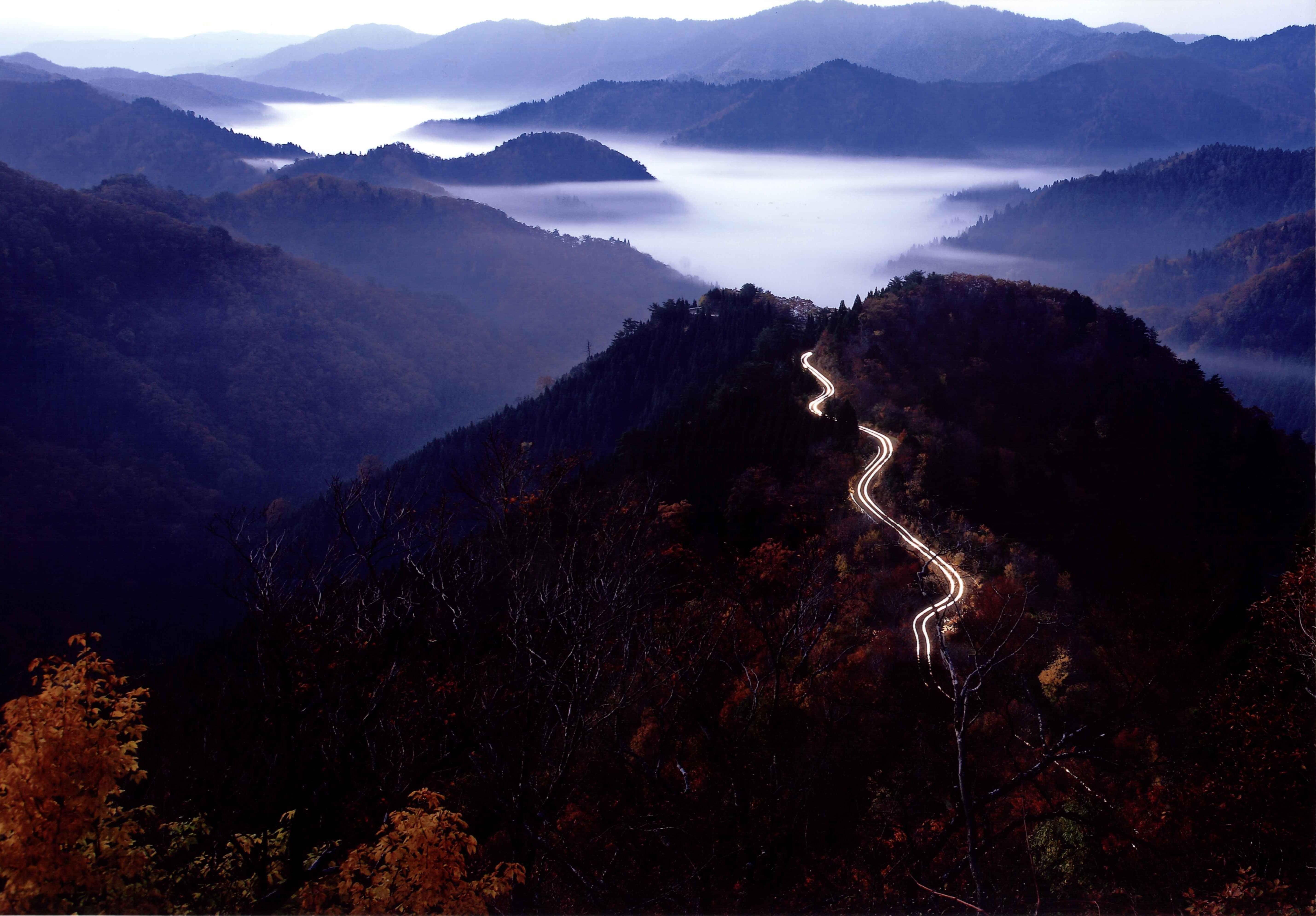 小入谷の朝