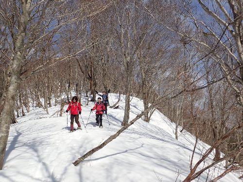 スノーシューを楽しむ高島の山 第3回駒ヶ岳