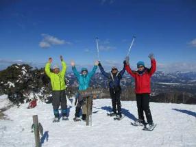 ~スノーシューで遊ぼう・雪景色を楽しもう~蛇谷ヶ峰 周回コース